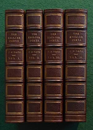 The English Poets in Four Volumes - Fine Bindings