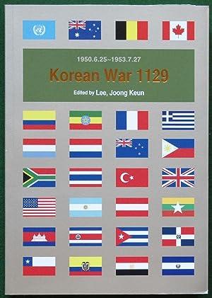 Korean War 1129: 1950.6.25 - 1953.7.27: Edited by Lee,
