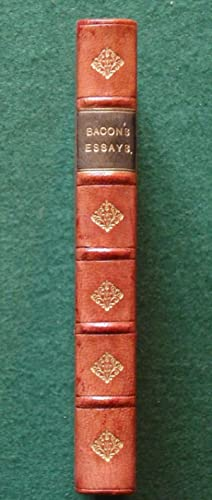 Bacon's Essays - Essays and Apothegms of Francis Lord Bacon - Fine Relfe Brothers Prize Binding