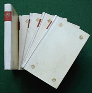 The Complete Works of John Keats in Five Volumes - Fine Vellum Set