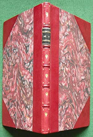 Painting as a Pastime - Fine J. S. Fellowes Binding