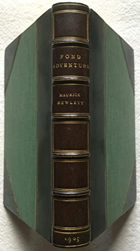Fond Adventure, Tales of the Youth of the World - Morrell Fine Binding