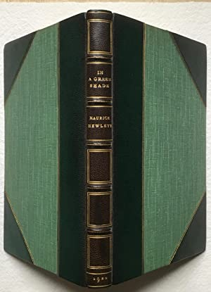 In a Green Shade, A Country Commentary - Morrell Fine Binding