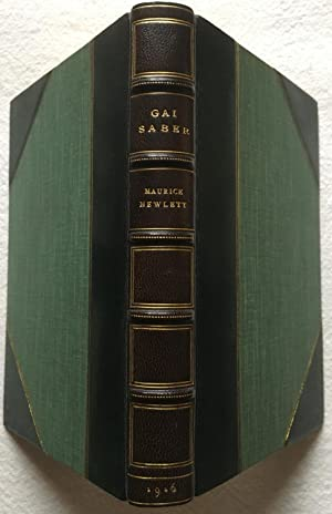 Gai Saber: Tales and Songs - Morrell Fine Binding