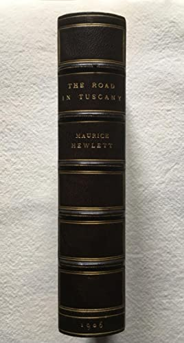 The Road in Tuscany, A Commentary - Morrell Fine Binding