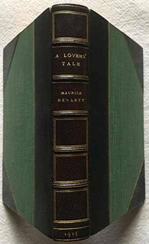 A Lover's Tale - Morrell Fine Binding