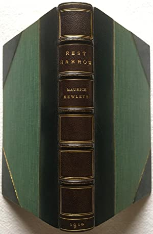 Rest Harrow, A Comedy of Resolution - Morrell Fine Binding