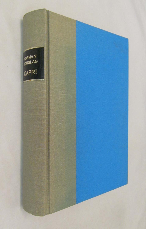 Capri_Materials_for_a_Description_of_the_Island_Douglas_Norman_SIGNED_Bon_Couverture_rigide