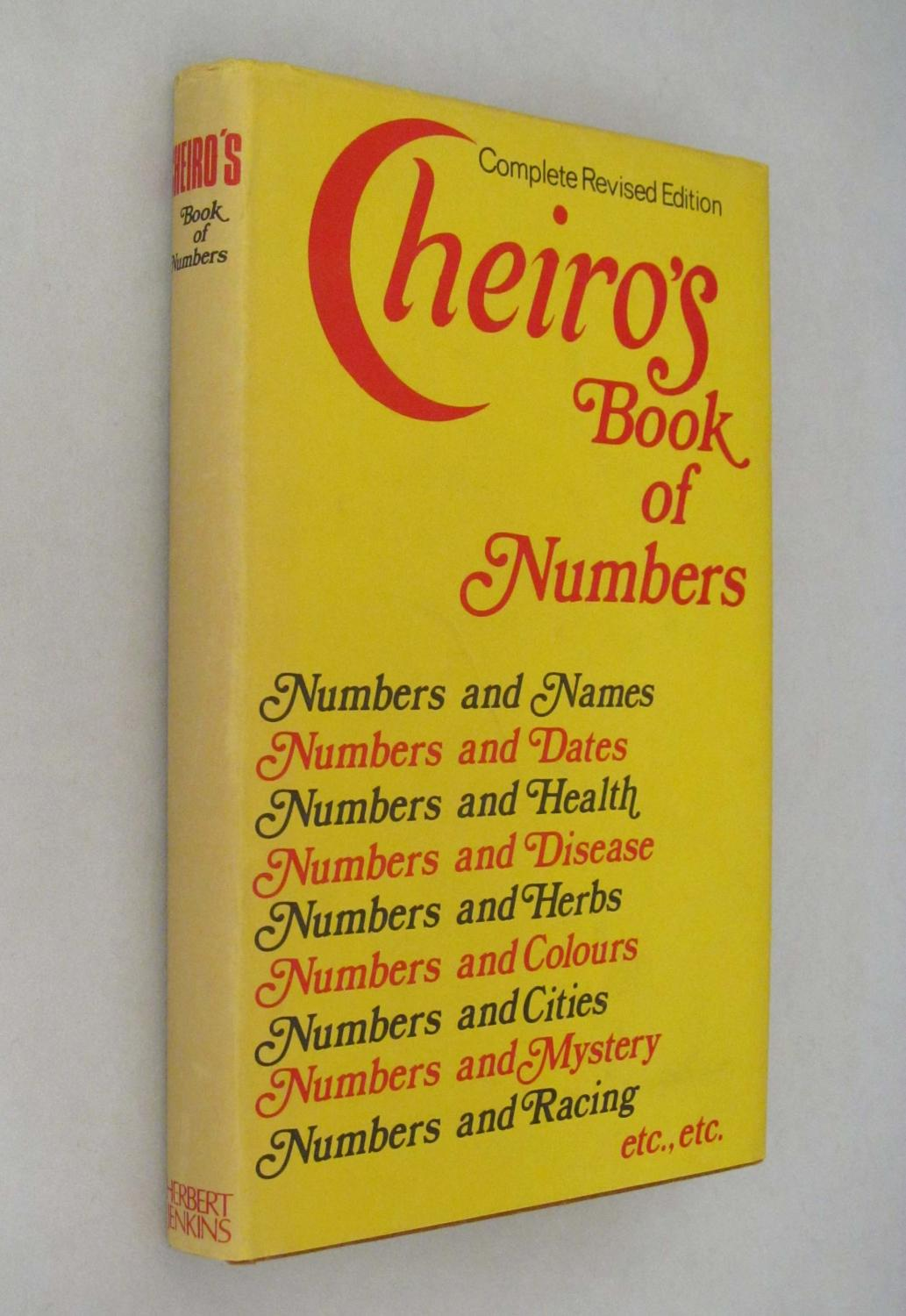 Book Of Numbers Cheiro