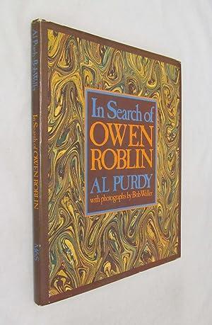 In search of Owen Roblin: Purdy, Al (