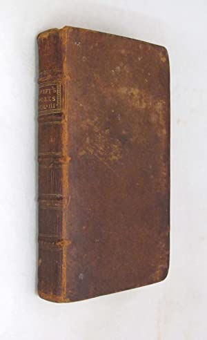 Volume III Of the Author's Works, Containing: Swift, Jonathan