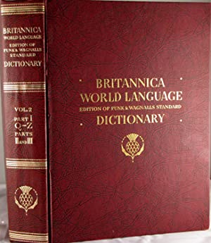 Funk & Wagnalls Standard Dictionary of the: n/a