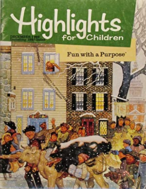 Highlights for Children: Fun With a Purpose December 1992 Volume 47 # 11