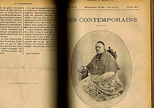 Les contemporains hebdomadaire de janvier 1894 à decembre 1894: Collectif