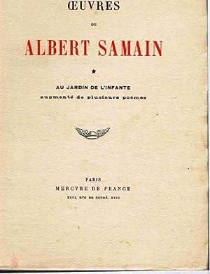 Oeuvres de albert samain abebooks for Au jardin de l infante samain
