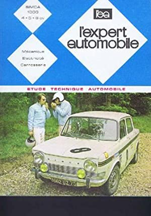 l'expert automobile n° 50/ simca 1000 ( 4-5 -6 CV)
