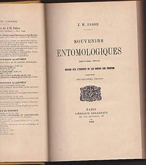 Souvenirs entomologiques quatrieme serie etudes sur l instinct et les moeurs des insectes: Fabre ...