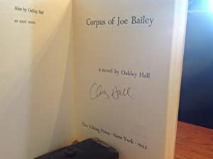 Corpus of Joe Bailey: Hall, Oakley
