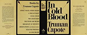IN COLD BLOOD (facsimile Dust Jacket for: Capote, Truman