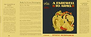 A FAREWELL TO ARMS (facsimile dust jacket for the first edition book: NO BOOK)