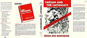 Tarzan and The Castaways-facsimile JACKET ONLY; (NO BOOK)