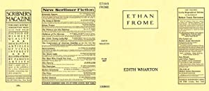 Ethan Frome (facsimile dust jacket for the first edition book: NO BOOK)