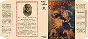 Tarzan The Terrible (facsimile dust jacket for the first Grosset & Dunlap Book edition-JACKET ONL...