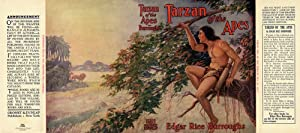 Tarzan of The Apes Facsimile Dust Jacket for Grosset & Dunlap edition (NO BOOK)