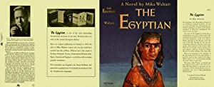 THE EGYPTIAN (facsimile Dust Jacket for the First Edition book-NO BOOK!)