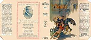 The Chessmen of Mars Facsimile Dust Jacket for 1st Grosset & Dunlap Edition NO BOOK, JACKET ONLY!