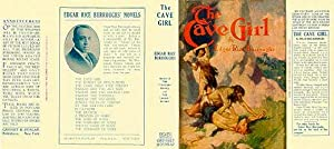 The Cave Girl (Facsimile Dust Jacket for the first Grosset & Dunlap Edition book-NO BOOK, Jacket ...