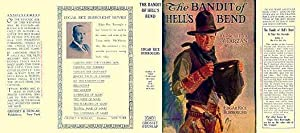 The Bandit of Hell's Bend facsimile dust Jacket for the First Grosset & Dunlap Edition Book. NO B...