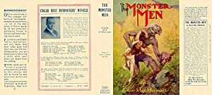 THE MONSTER MEN (facsimile Dust Jacket for the First Edition Grosset & Dunlap book-JACKET ONLY; N...