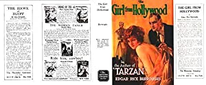 The Girl From Hollywood (Facsimile Dust Jacket Only for first Ed. book-NO BOOK)