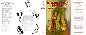 The Warlord of Mars (Facsimile Dust Jacket for the 1948 ERB edition book-JACKET ONLY; NO BOOK)