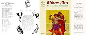 A Princess of Mars (Facsimile Dust Jacket for the 1948 ERB 1948 edition-JACKET ONLY; NO BOOK)