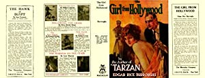 The Girl From Hollywood State 2 (Facsimile Dust Jacket Only for first Ed. book-NO BOOK)