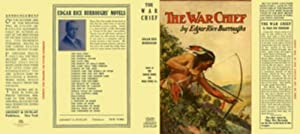 THE WAR CHIEF replication dust jacket (NO BOOK, jacket only)