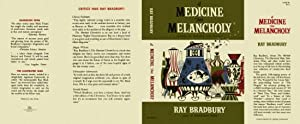 A Medicine For Melancholy Facsimile Dust Jacket for the 1st Edition and Early Printings [NO BOOK,...