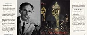 Something Wicked This Way Comes Facsimile Dust: Bradbury, Ray