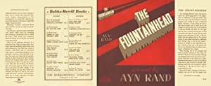The Fountainhead (DUST JACKET for the FIRST: Rand, Ayn (DUST