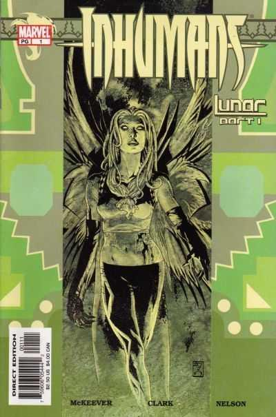 INHUMANS_Nos_16_June_to_Dec_2003_Lunar_and_Culture_Shock_NM_McKEEVER_SEAN_Comme_Neuf_Couverture_souple