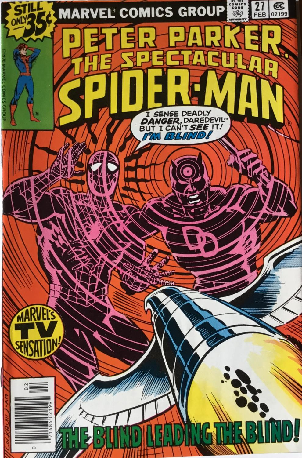 PETER PARKER, The SPECTACULAR SPIDERMAN Nos. 27 & 28 (Feb & March 1979) (NM) Frank Miller's 1st. Daredevil MANTLO, BILL As New Softcover