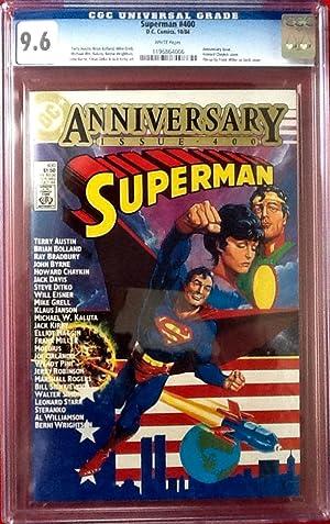 "SUPERMAN No. 400 (Oct. 1984) ""Anniversary Issue"": BRADBURY, RAY (introduction)"