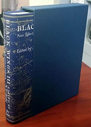 BLACK WINGS III (Three) - New Tales of Lovecraftian Horror (Signed & Numbered Ltd. Hardcover in S...