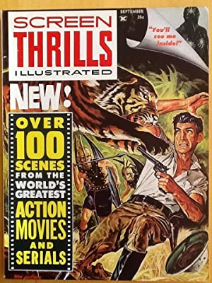SCREEN THRILLS ILLUSTRATED Vol. 1, No. 2 (Sept. 1962) VF/NM