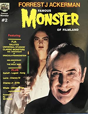 FORREST J ACKERMAN : FAMOUS MONSTER of FILMLAND No. 2 (Two): ACKERMAN, FORREST J. (author) : WARREN...
