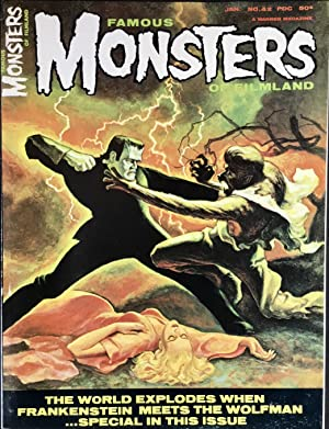 FAMOUS MONSTERS of FILMLAND No. 42 (January 1966) NM