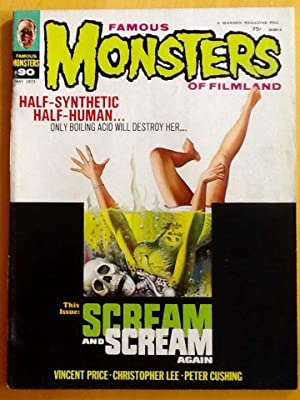 FAMOUS MONSTERS of FILMLAND No. 90 (May 1972) FINE/VF