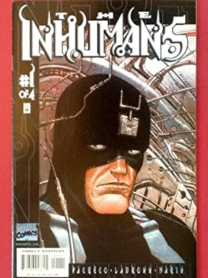 The INHUMANS Nos. 1-4 (June to Sept.: PACHECO, CARLOS
